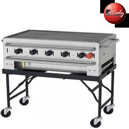BBQ - Propane 3ft Collapsable Legs-NO LONGER AVAILABLE at Cody Party Store & Rentals