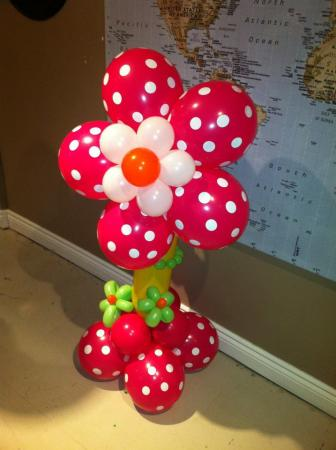 Blossom Balloon Pillar at Cody Party Store & Rentals