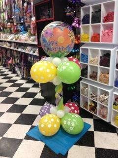 Bubble Twist Pillar at Cody Party Store & Rentals