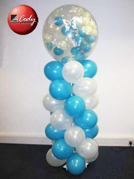 Exploding Gum Ball Pillar at Cody Party Store & Rentals