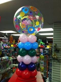 Mini Gumball Pillar at Cody Party Store & Rentals