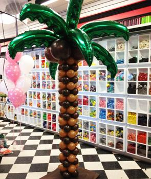 Palm Tree at Cody Party Store & Rentals