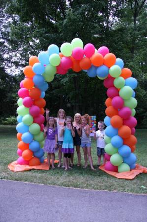 Super Twist Balloon Arch at Cody Party Store & Rentals
