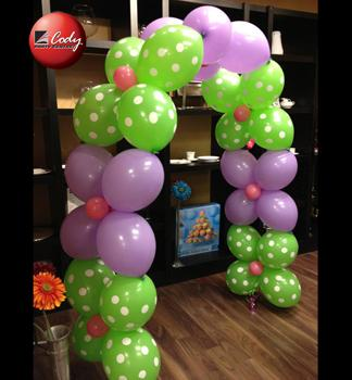 Xtreme Cody Link-A-Loon Arch at Cody Party Store & Rentals