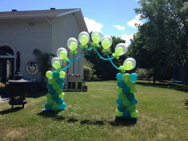 Xtreme Cody Pearl Arch at Cody Party Store & Rentals