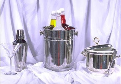 Champagne Bucket-Stainless at Cody Party Store & Rentals