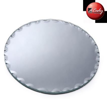 Mirror Round 12 in. at Cody Party Store & Rentals