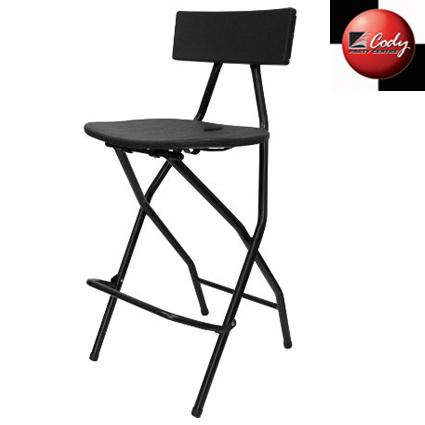 Chair - Bar Height - Black at Cody Party Store & Rentals