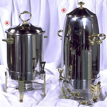 Coffee Server-Deluxe Samovar - 5 Gallon at Cody Party Store & Rentals