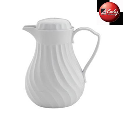 Coffee Server - White Insulated at Cody Party Store & Rentals