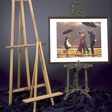 Easel - Wooden at Cody Party Store & Rentals