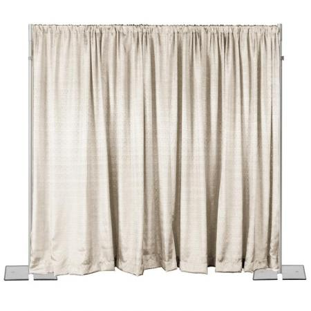 Drape-8ft x 45 in White at Cody Party Store & Rentals