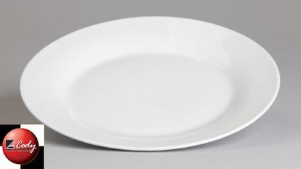 """Sabina Plate 10.75""""- Dinner at Cody Party Store & Rentals"""