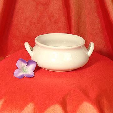 Sabina Soup Bowl with handles at Cody Party Store & Rentals