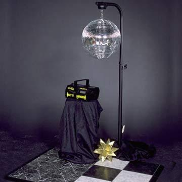 Mirror Ball with stand at Cody Party Store & Rentals