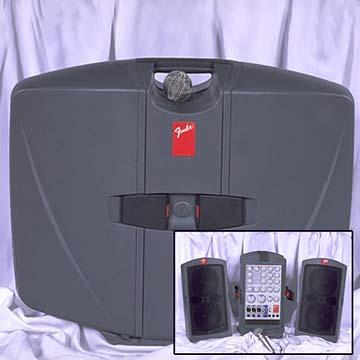 Fender P.A. System with microphone at Cody Party Store & Rentals