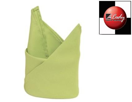 """Apple Green Napkin (20x20"""") at Cody Party Store & Rentals"""