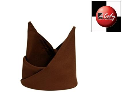 Chocolate Napkin (20x20) at Cody Party Store & Rentals