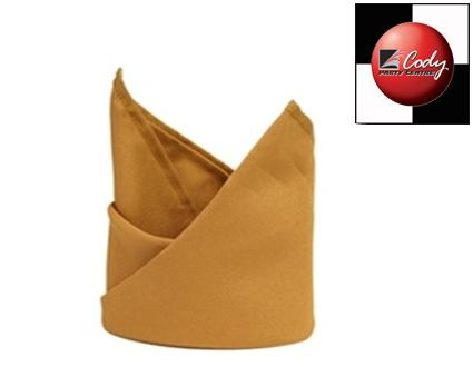"""Gold Napkin (20x20"""") at Cody Party Store & Rentals"""