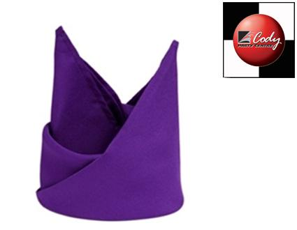 """Purple Napkin (20x20"""") at Cody Party Store & Rentals"""