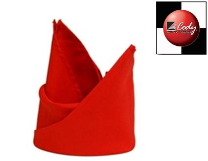 """Red Napkin (20x20"""") at Cody Party Store & Rentals"""