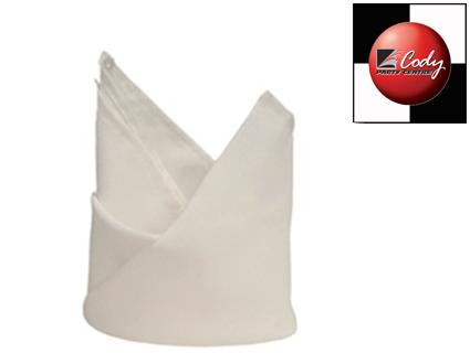 """White Napkins (20x20"""") at Cody Party Store & Rentals"""