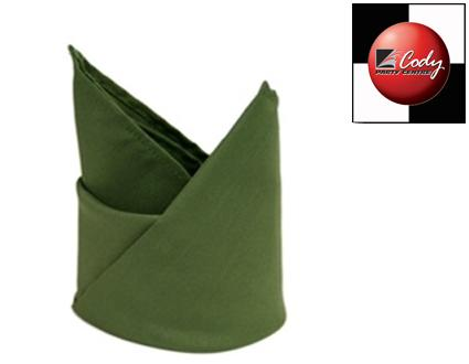 """Willow Green Napkin (20x20"""") at Cody Party Store & Rentals"""