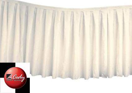 Table Skirt Ivory - Polyester (17