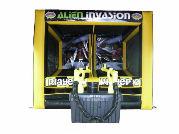Inflatable Game - Alien Invasion at Cody Party Store & Rentals