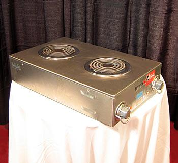 Electric Stove Top 2 Burner-110 volt at Cody Party Store & Rentals