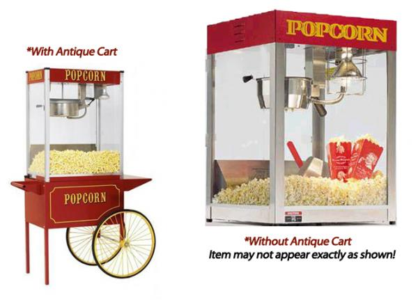 Popcorn Machine - Table Top (No Cart) at Cody Party Store & Rentals