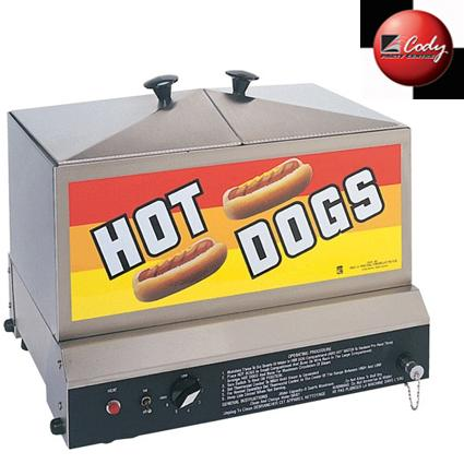 Hot Dog Steamer at Cody Party Store & Rentals