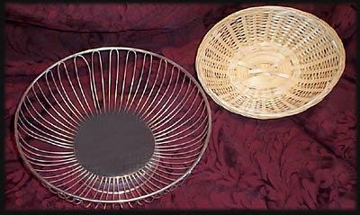 Bread Basket-Silver at Cody Party Store & Rentals