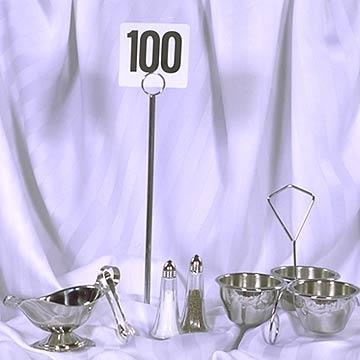 Table Number Stands at Cody Party Store & Rentals