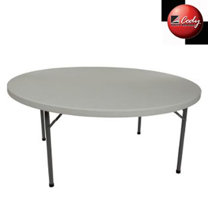 """Table Round - 60"""" Wide X 30"""" High at Cody Party Store & Rentals"""