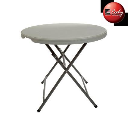 """Table Round Cocktail Low - 32"""" Wide Top at Cody Party Store & Rentals"""