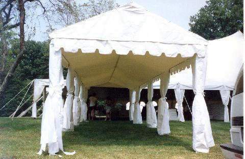 Tent 10 x 40 Frame at Cody Party Store & Rentals