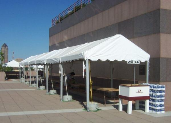 Tent 10 x 60 Frame at Cody Party Store & Rentals