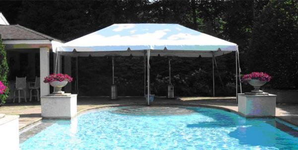 Tent 10 x 20 Frame at Cody Party Store & Rentals