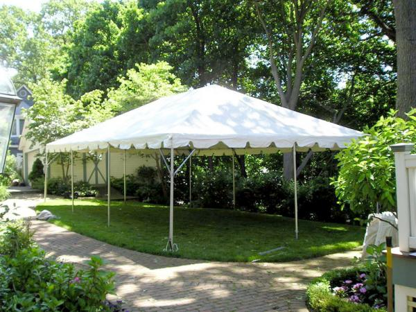 Tent 20 x 30 Frame at Cody Party Store & Rentals