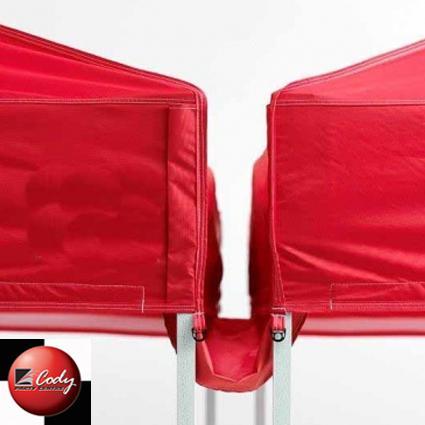 Tent Pop Up Rain Gutter 10