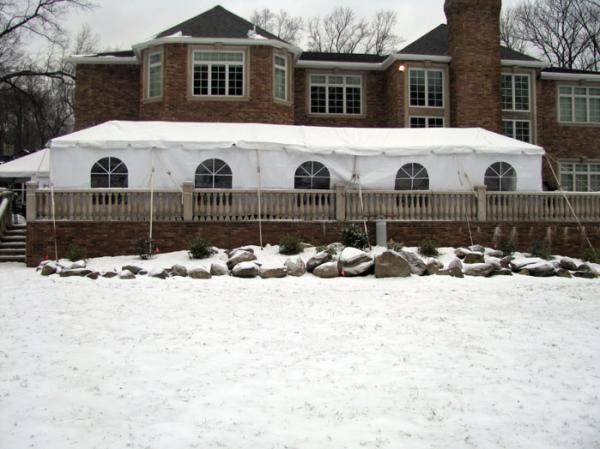 Tent 10 x 50 Frame at Cody Party Store & Rentals