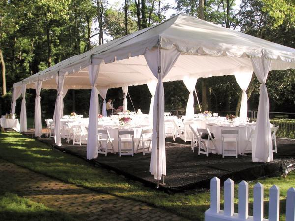 Tent 20 x 50 Frame at Cody Party Store & Rentals