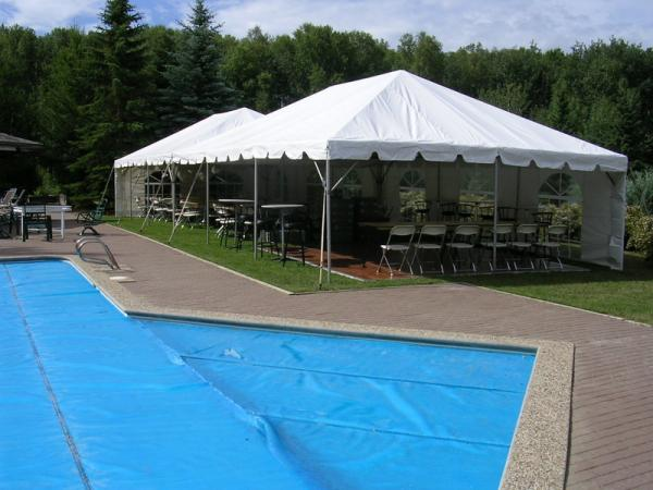Tent 20 x 60 Frame at Cody Party Store & Rentals