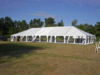 Tent 20 x 70 Frame at Cody Party Store & Rentals