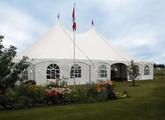 Tent 30 x 60 Pole at Cody Party Store & Rentals