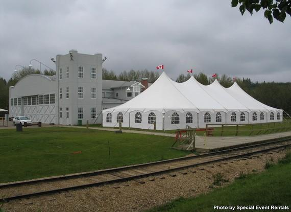 Tent 40 x 100 Pole at Cody Party Store & Rentals