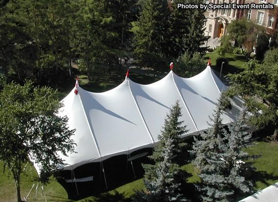 Tent 40 x 80 Pole at Cody Party Store & Rentals