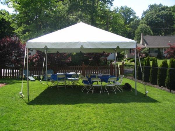 Tent 15 x 15 Frame at Cody Party Store & Rentals